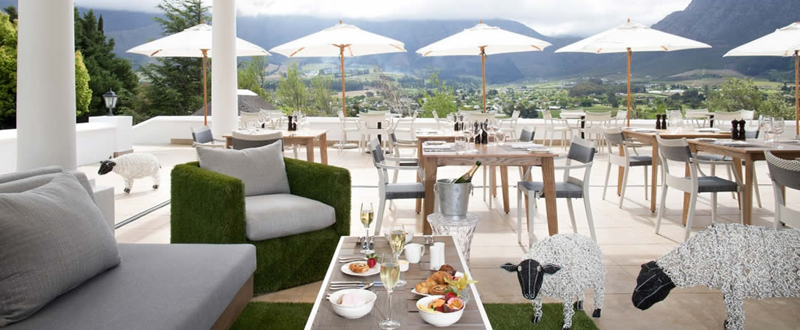 Restaurant Transfers in Franschhoek